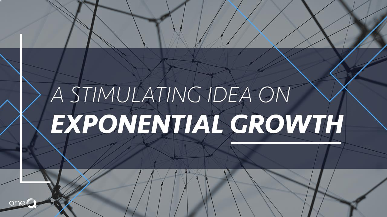 A Stimulating Idea on Exponential Growth - Simply One Question - One Q