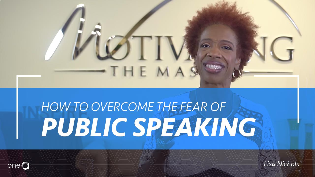 overcome fear of public speaking That's how bad my fear of public speaking used to be each time i would stand in front of an audience, the ball of tension would start to form deep in my chest, and i knew all was lost so, one day, i decided to do something about it.