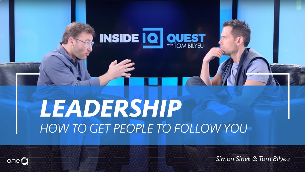 Leadership - How to Get People to Follow You - Simply One Question - One Q
