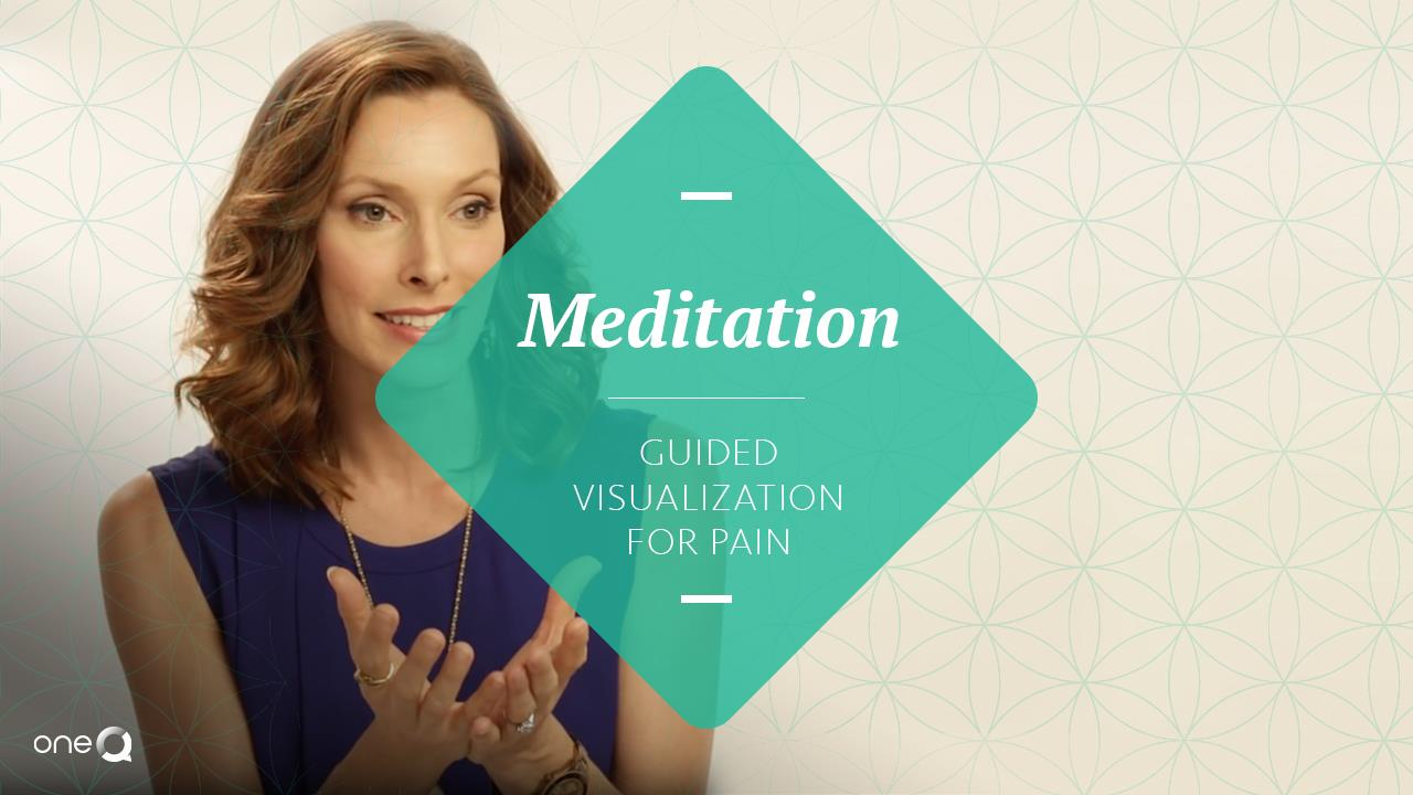 Meditation | Guided Visualization for Pain - Simply One Question - One Q