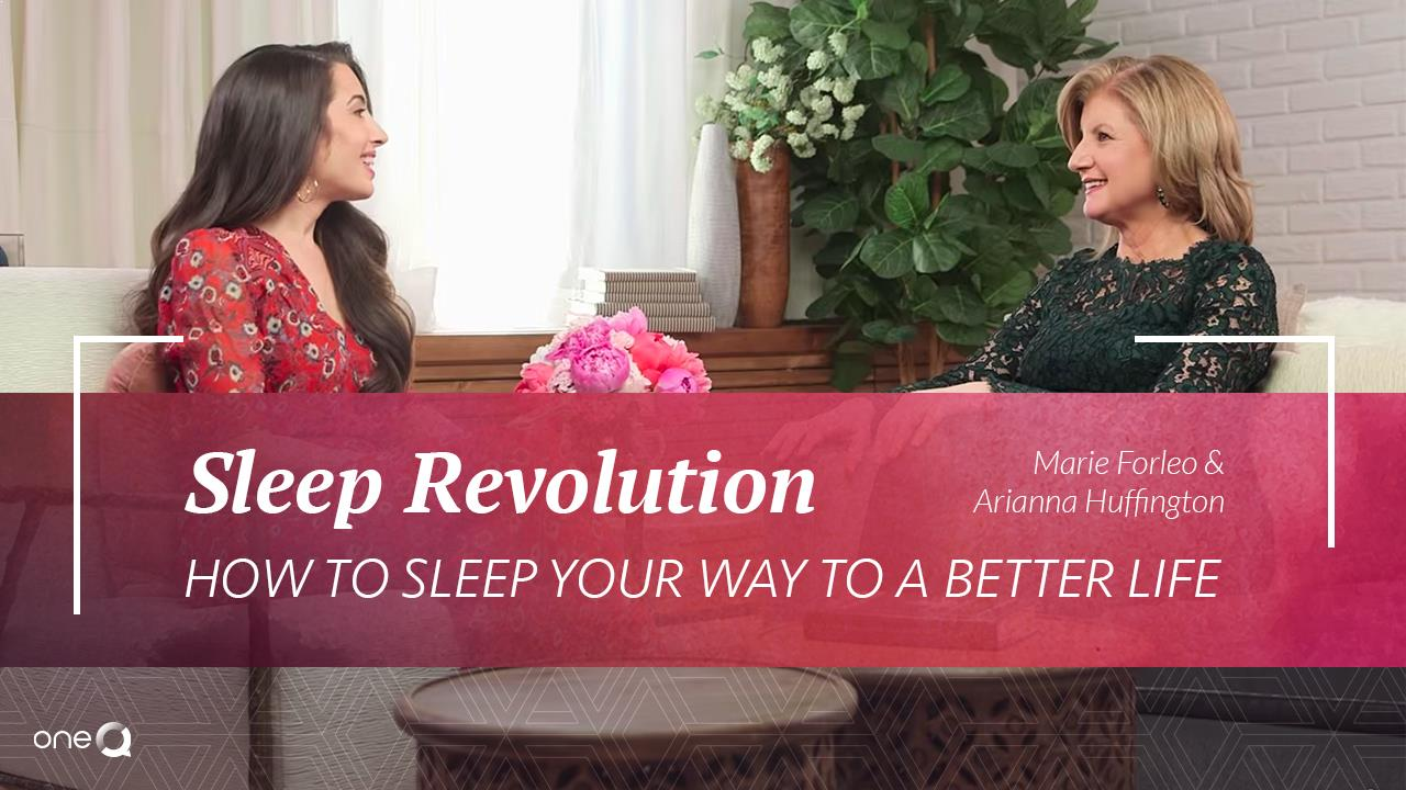 Sleep Revolution: How To Sleep Your Way To A Better Life - Simply One Question - One Q