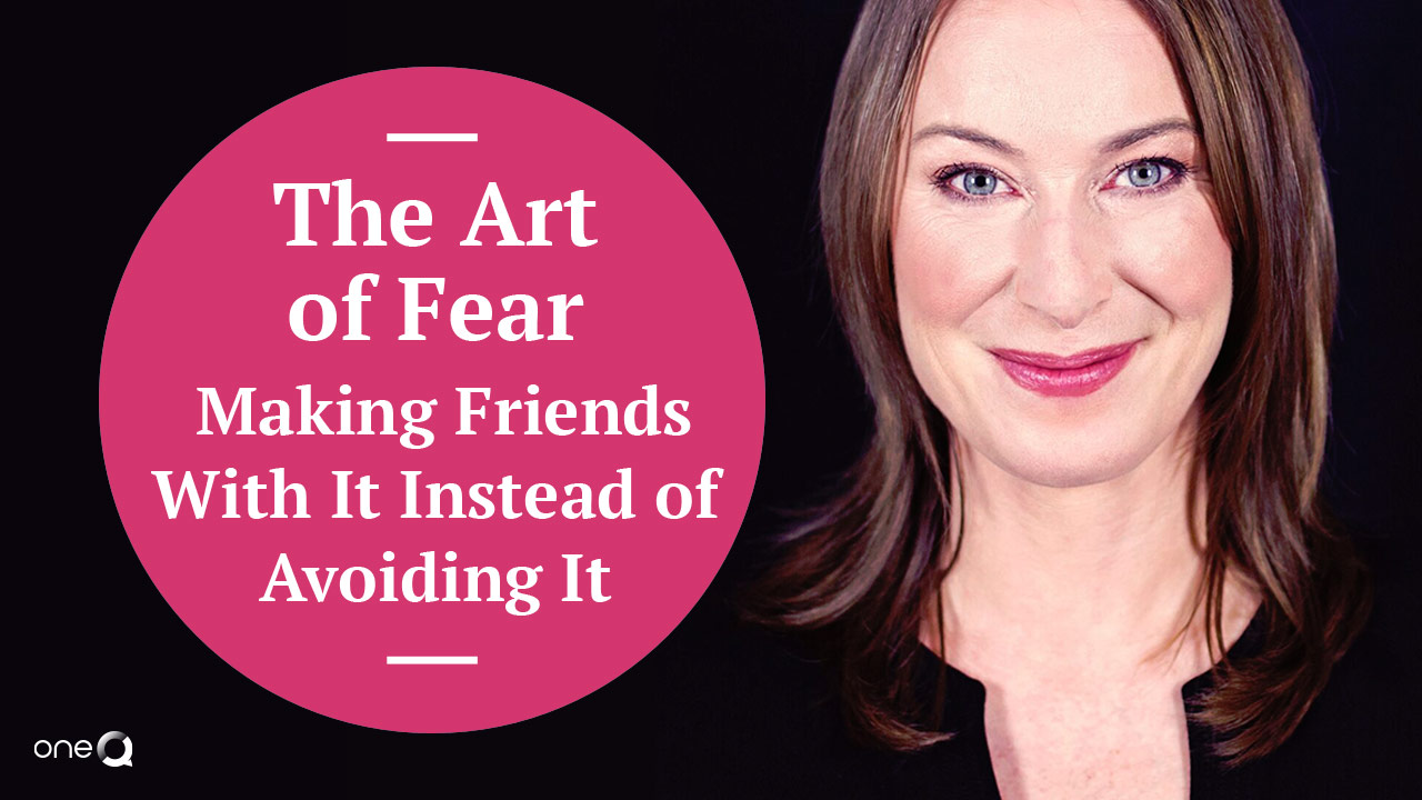 The Art of Fear - Making Friends With It Instead of Avoiding It - Simply One Question - One Q