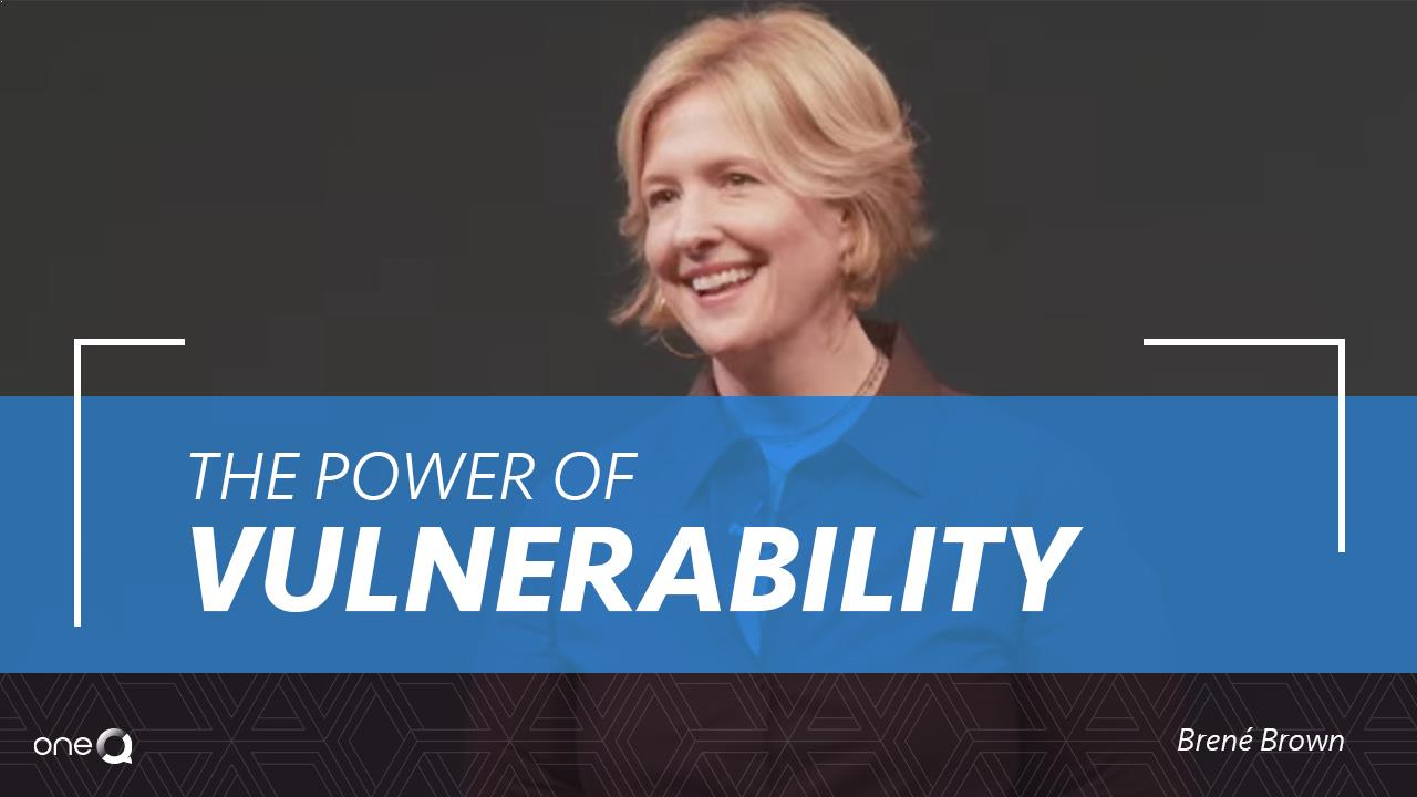 The Power of Vulnerability - Simply One Question - One Q